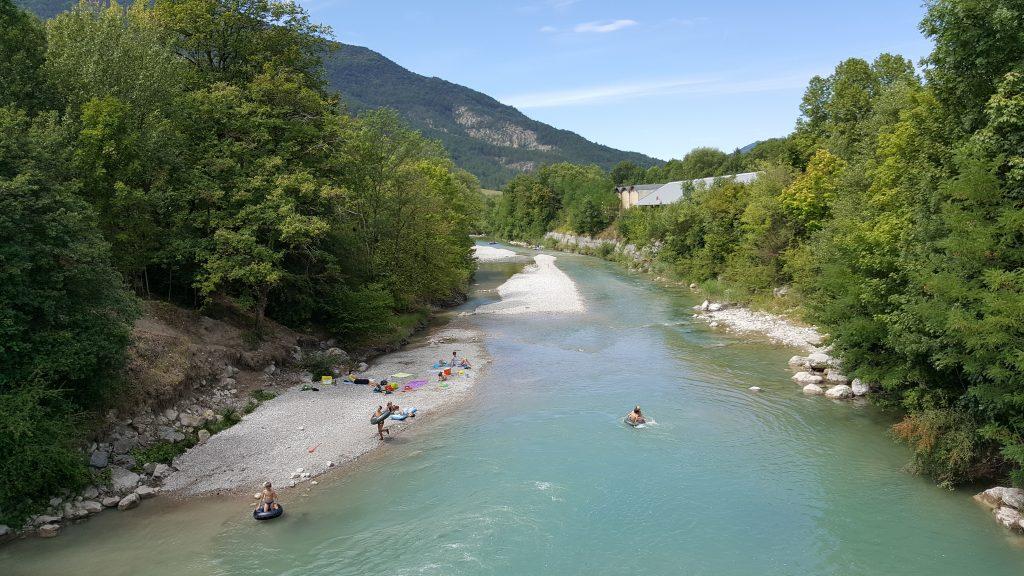 Les spots de baignade de la Drôme !
