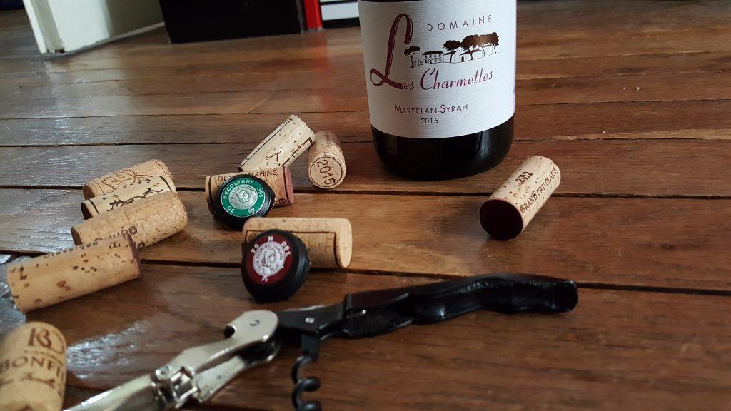 Sur chaque bouteille est indiqué si le vin est issu d'un Récoltant ou d'un Négociant. by ni bu ni connu