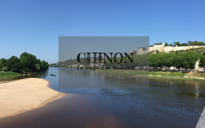Chinon, cité viticole en Touraine