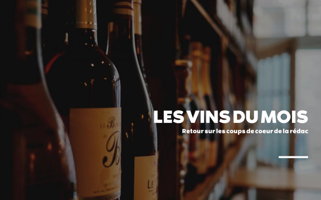 Sélection des vins du mois de novembre