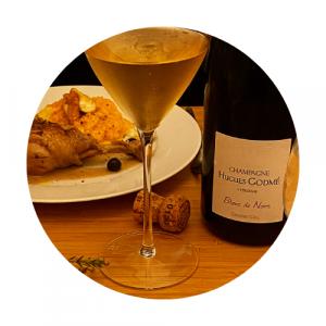 Champagne Blanc de Noirs de Hugues Godmé